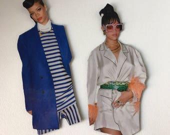 Fashion Forward Rihanna Inspired Magnet Set