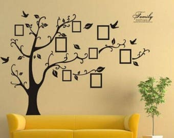 Family Tree Vinyl Etsy - How to make large vinyl wall decals with cricut