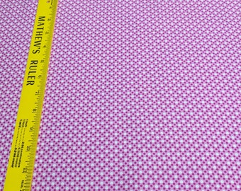 Dim Dot-Peony Cotton Fabric from Michael Miller Fabrics