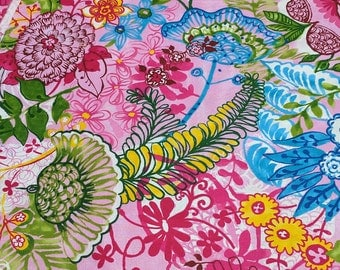 Pretty in Pink Master Floral Cotton Fabric from Paintbrush Studios