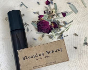 Sleeping Beauty | Essential Oil Perfume | Essential Oil Roller | Essential Oil Blend | Gift for Her | Floral Perfume | Eau de Cologne