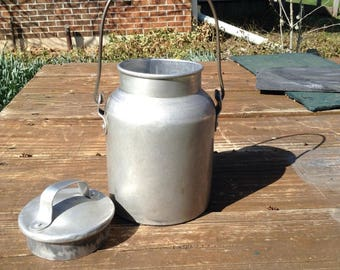 Vintage Cream Can, Milk Can, Dairy Can,