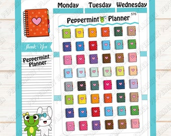 Different Color Planners --- Planner Stickers ---576
