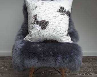 "Cushion cover "" Birch Tree"""