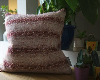 Bespoke Woven Ombre Satins Cushion