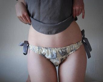 Rabbit Tie-Side Panties
