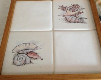 Sea Shore Tile Trivet