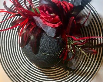 Kentucky Derby Hat | Kentucky Derby Costume | Kentucky Derby Outfit | Kentucky Derby Theme | Kentucky Derby Party | Costume Hat | Wide-brim