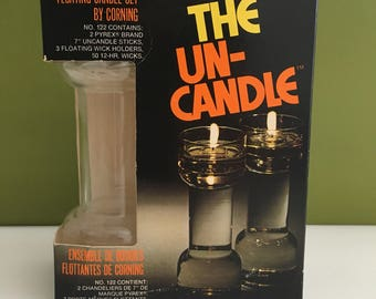 Pyrex Un-Candle Floating Candle By Corning
