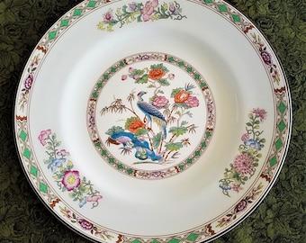 Wedgwood Kutani Crane Salad Plate