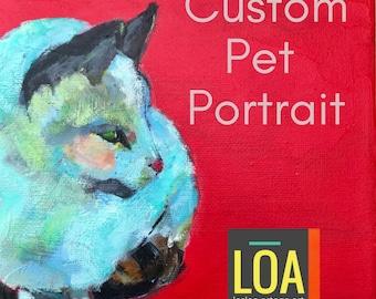 Pet Portrait, Custom