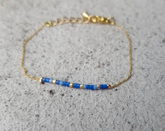 Delicate Gold and Beaded Bracelet/Necklace