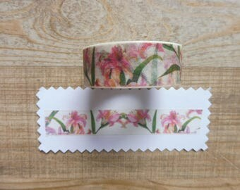 1.5 cm tape 10 m with flower decorations