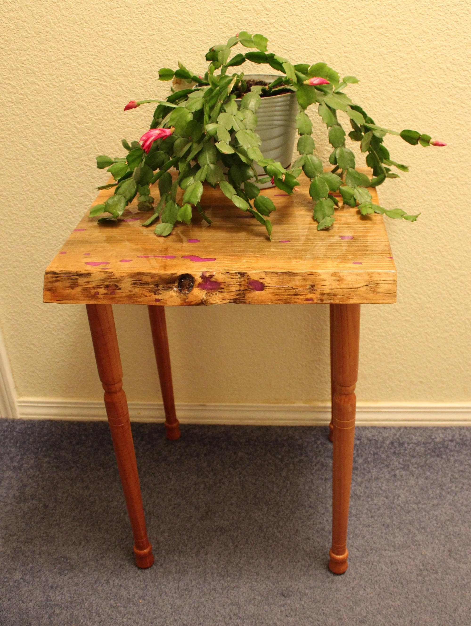Foyer Plant Stand : Entryway table night stand plant nightstand