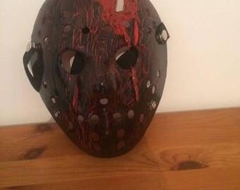Horror style hockey mask