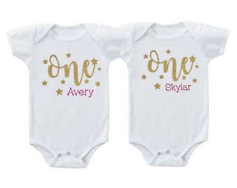 Twins first birthday - Twins outfits - Twins first birthday outfits - Twins baby girls gifts - Twins baby gifts - Twins first birthday party