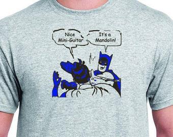 Batman Mandolin Slap T Shirt