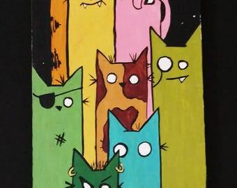 Feline Peepers