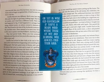 Harry Potter Ravenclaw Quote Bookmark
