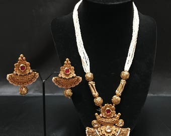Indian Jewelry Set - South Asian Bridal - South Asian Jewelry - Kundan Jewelry - Pakistani Jewelry - Mughal Jewelry - Bollywood Jewelry -