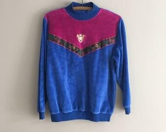 90's Velour Pullover