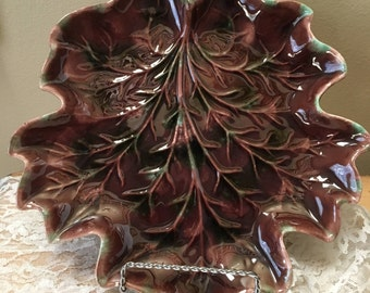 Royal Haeger Leaf Dish/Plate