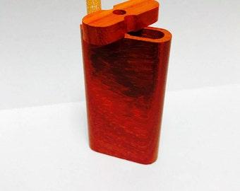 Padauk Wood Dugout with Tobacco 3'' Cigarette pipe