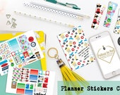 Classic Planner Stickers Club, Planner Sticker Subscription, Monthly Subscription, Subscription Box, Sticker, Spring Stickers, Happy Planner