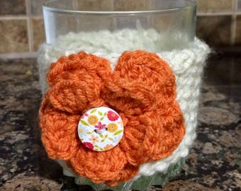 Flower Drink Cozie