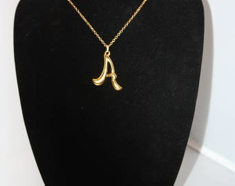 Signature A Gold-Tone Necklace