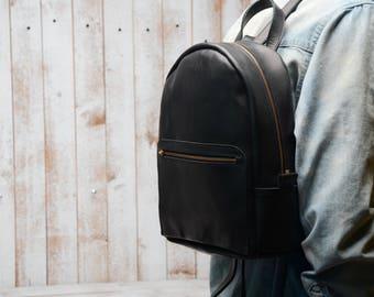 LEATHER BACKPACK . Purse. Leather Purse. Women Backpack. travel bags, Brown Leather Backpack, Womens Rucksack, Shoulder Bag, Travel Bag, Bag