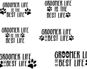 Animal Groomer Decal / Animal Groomer / Pet Groomer Decal / Dog Groomer Decal / Groomer Decal / Gifts for Dog Groomers