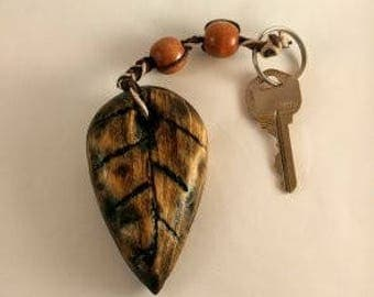 Totally Handmade Wooden Key Chain