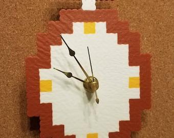 Clock Perler... Clock (The Legend of Zelda)
