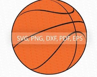 Basketball SVG, Basketball Vector, Clipart, Cut File, Basketball Clip Art,  Cricut, Basketball png, DXF, pdf, EPS FlexyCreatives #vc-12