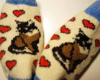 Kids Socks, Socks for Kids, Wool Kids Socks, Warm Winter Kids Socks