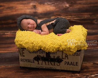 Photo Prop for newborn baby, Handmade Photography baby knitting, Outfit