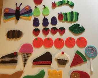 The Very Hungry Caterpillar - Felt Board Story