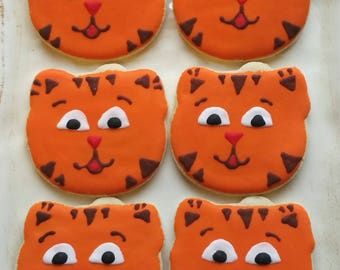 Daniel The Tiger Cookies 1 dozen