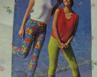 "Patons 664 "" At the Beach ""  Spring / Summer Tops  Knitting Pattern Booklet"