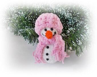 Crochet snowman, Knit snowman, Christmas decoration, Home decor, Christmas gifts, Amigurumi Snowman, Holiday decoration