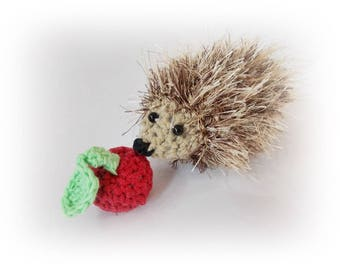 Crochet hedgehog amigurumi hedgehog Plush, Gift for her for kids Stuff Crochet, Amigurumi Animal, home decor, crochet decoration