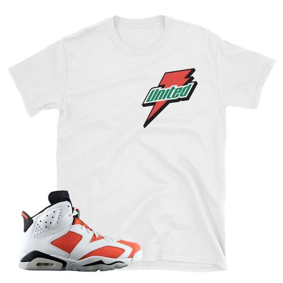 37674fc3290 58 Best Gatorade Images On Pinterest White Gatorade: Jordan 6 Gatorade Bolt  White Tee : To Match Jordan