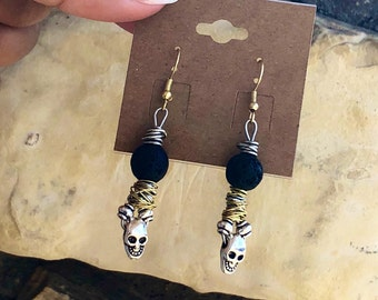 DROP DEAD EARRINGS