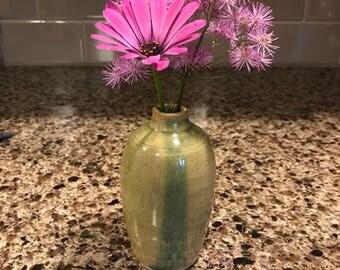 Wheel Thrown Mini Ceramic Bud Vase Second