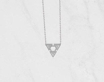 Skylar Necklace Silver