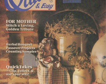 Quick & Easy Magazine -- Apr/May 90