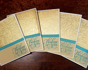 Thinking Of You   Greeting Cards   Set of 5