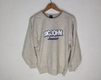 Vintage Big John Sweatshirts Size 160