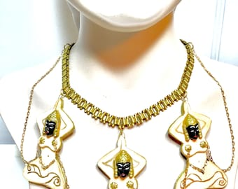 The Siamese Goddess charm necklace!